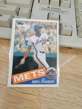 1985 Topps Baseball Card #570 Darryl Strawberry New York Mets -  - $24.75