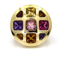 Cartier Pasha Multi-Gemstone Ring in 18k Yellow Gold - $7,693.00