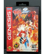 Fatal Fury 2 (Sega Genesis 1994) Complete - $31.50