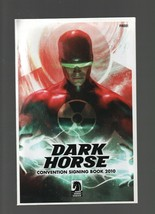 Dark Horse Convention Signing Book 2010  Dark Horse Comics - San Diego C... - $4.17