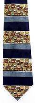 Teddy Bears Men's Neck Tie Novelty Wildlife Toy Bear Animal Dress Blue N... - $15.79