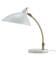 Adesso 3168-02 Peggy Desk Lamps 18in White 1-light - $150.00