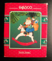 Enesco Christmas Ornament 1994 Treasury Of Christmas Ornaments Rockin' R... - $6.99