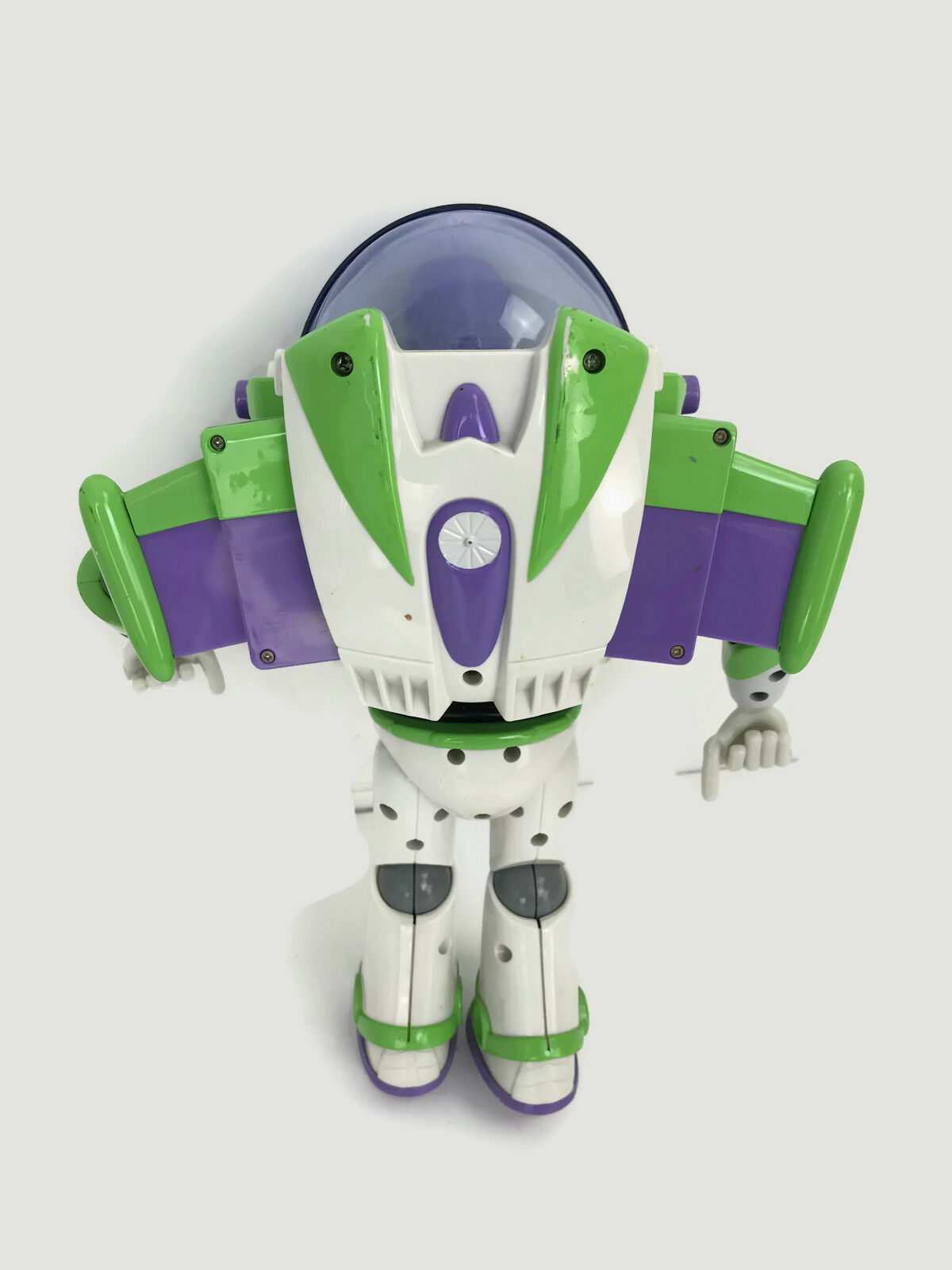 "Disney Pixar Toy Story Buzz Lightyear Talking Action Figure Lights 11-12 "" Tall"