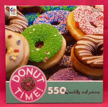 Ceaco jigsaw puzzle Donut Time 550 quality cut pieces 2016 - $8.00