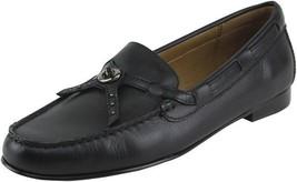 Coach Women's Kara Loafer Black Shoes Multiple Sizes - $89.99