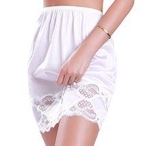 New Women's Premium Illusion Classic Half Slip Skirt With Lace Trim 1017/1817 image 10