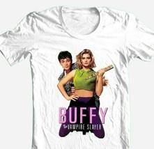 Buffy Vampire Slayer T-shirt retro 90s Luke Perry movie 100% cotton graphic tee image 1