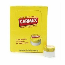 Carmex Classic Lip Care Quality Moisturizing Lip Balm Original Flavor, 0... - $15.90