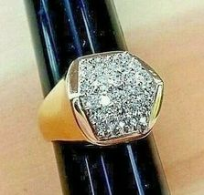 *EXECUTIVE POWER* MEN'S DIAMOND RING (1.17 Carats Tw) 14K YELLOW GOLD - $1,550.00
