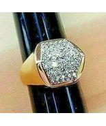 *EXECUTIVE POWER* MEN'S DIAMOND RING (1.17 Carats Tw) 14K YELLOW GOLD - $1,550.00