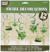 Camouflage Decorative Swirl Value Pack, Party Favor - $6.57