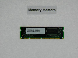 Mem2600-16u32d 16mb Approved Dram Memoria para Cisco 2600 Serie - $23.75