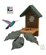 HUMMINGBIRD NESTING HOUSE - Weatherproof Poly Hummer Bird Birdhouse AMIS... - $38.97