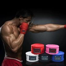 5 Pairs Cotton Boxing Bandage Wrist Straps Sports (Multi-Color) - $53.96+