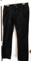 White House Black Market Black Velvet Stretch J EAN S Sz 6S Euc - $32.00