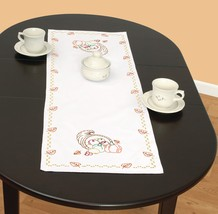 "Jack Dempsey Stamped Table Runner/Scarf 15""X42""-Cornucopia - $13.08"