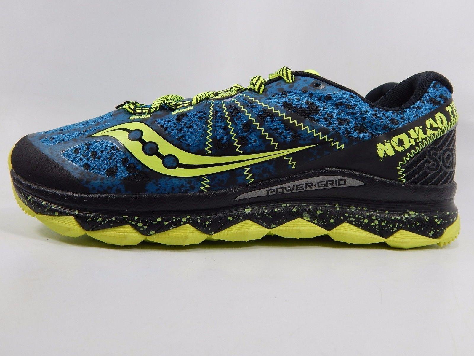 Saucony Nomad TR Men's Trail Running Shoes Size US 9 M (D) EU 42.5 Blue S20287-1