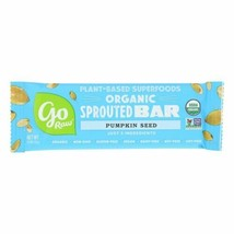 Go Raw - Organic Sprouted Bar - Pumpkin Seed  - Case Of 10 - 0.493 Oz. - 4419621 - $16.97