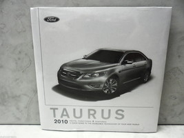10, 2010 Ford Taurus Facts Functions Features Unused Dealer Brochure - $18.23