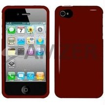 Amzer Injecto Snap On Hard Case for iPhone 4 4S - Red - $11.83