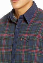 Levi's Men's Classic Barstow Western Slim Fit Plaid Button-Up Casual Dress Shirt image 2