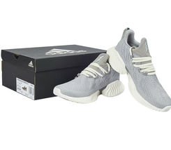 adidas alphaBOUNCE Instinct Women's Running Shoes Gray Fitness Gym NWT F36732 image 6