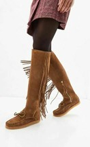Polo Ralph Lauren Women's Brown Suede Over the Knee Boots, 7 B - $346.50