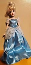 "Cinderella Porcelain Keepsake 14"" Doll - $21.31"