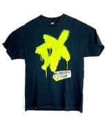 VTG Degeneration X Men's Reunion Tour Spell Out Spray Paint T-shirt Size L - $54.45