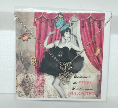 Beauchamp Collection Greeting Card Fabulous Classy Purse Necklace