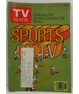 TV Guide Magazine August 19, 1978  Sports on TV - $2.00
