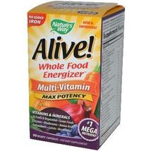 Nature's Way Alive No Iron Added (1x90vcap) - $20.56