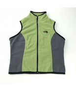 The North Face green vest w/ back zipper pocket womens medium - $21.03