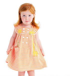 Le Top Giraffe Applique Summer Dress  Size 2T