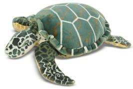 Melissa & Doug Sea Turtle Giant Stuffed Animal NWOT Almost 3 feet long!!! - $24.02