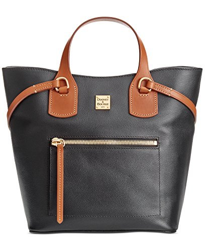 Dooney & Bourke Raleigh Leather Jenny Bag, Black