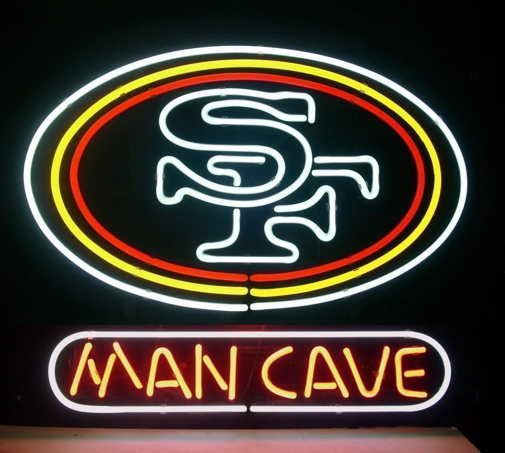 "New San Francisco 49ers World Series Champions Man Cave Neon Sign 24""x20"""