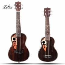 Zebra 21'' 23'' 4 Strings Concert Ukulele Bass Guitar Guitarra with Buil... - $115.68+