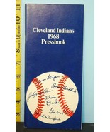 1968 Cleveland Indians Baseball Pressbook RS194 - $19.75