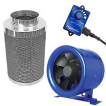 "Hyper Fan 10"" + Black Ops 10"" x 24"" Carbon Filter Combo Package Kit - $365.53"