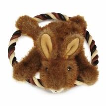 Grriggles Plush Fuzzy Flyers Dog Toy Bunny - $9.90
