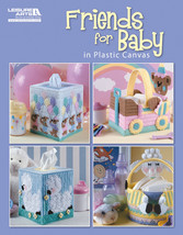 Leisure Arts-Friends For Baby In Plastic Canvas - $15.89