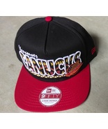 New Era 9Fifty NHL Vancouver Canucks Hat Cap Adjustable Size M/L - £16.05 GBP
