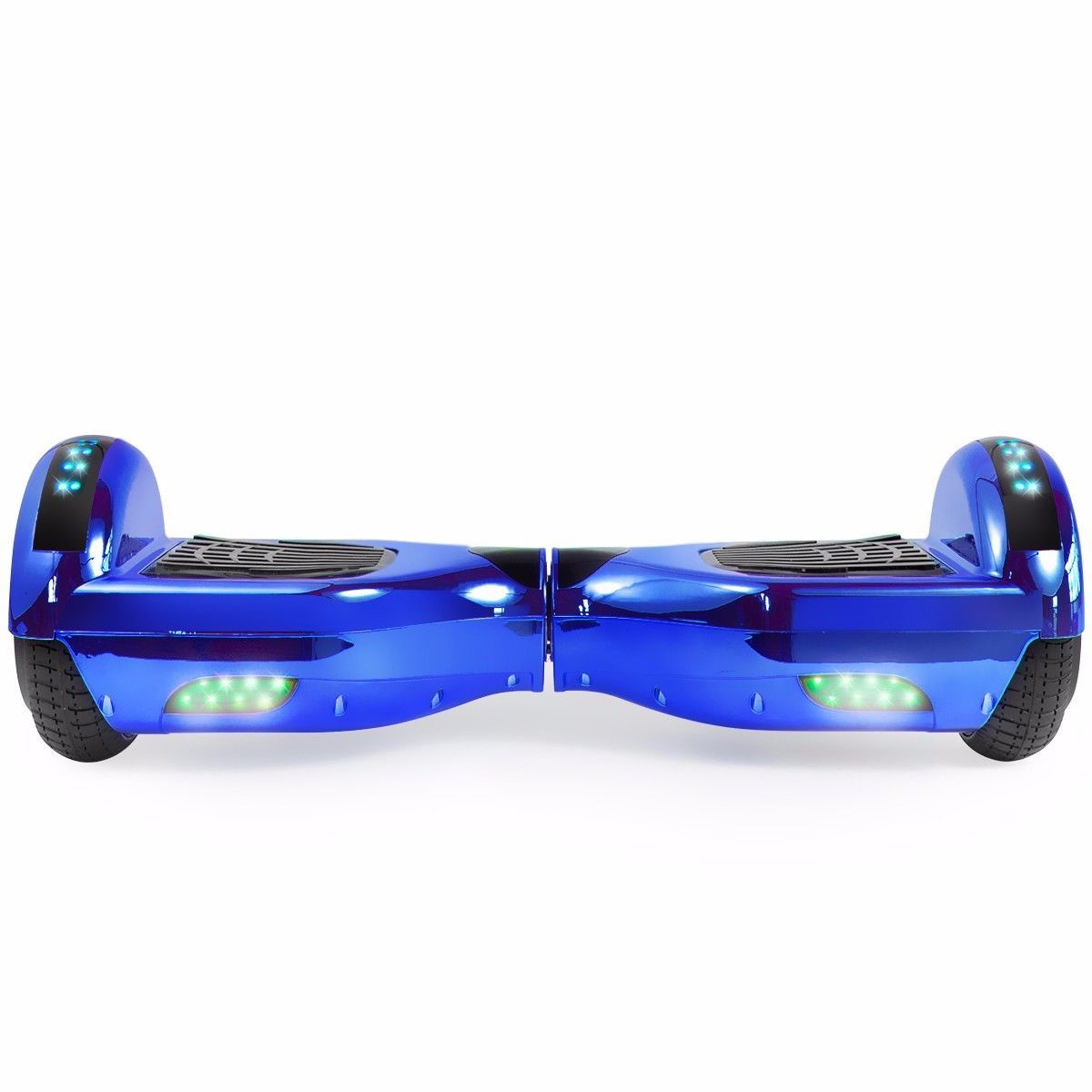 Flash Chrome Blue Bluetooth Hoverboard Two Wheel Balance Scooter UL2272