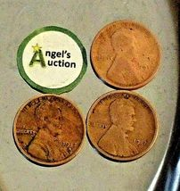 Lincoln Wheat Penny 1917 P, 1917 D and 1917 S AA20-CNP2170 Antique image 7