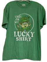 Lucky Charms Leprechaun Vintage Look This Is My Lucky Shirt Sz M St Patr... - $12.23