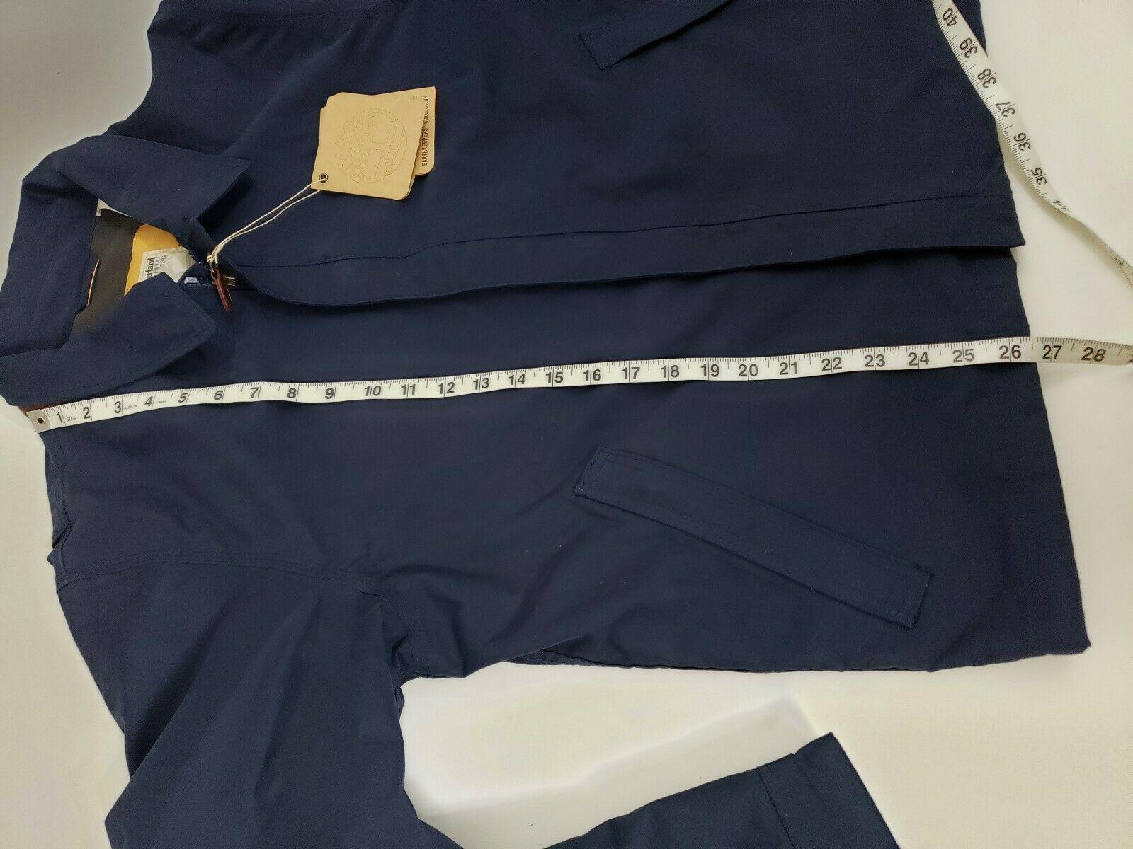 Timberland Mens Earthkeepers Waterproof Hooded Jacket Fleece Size Large NEW