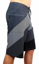 NEW DC SHOES MEN'S CLASSIC BOARD SHORTS SURF TRUNKS SWIMWEAR 4 WAY STRETCH GRAY image 2
