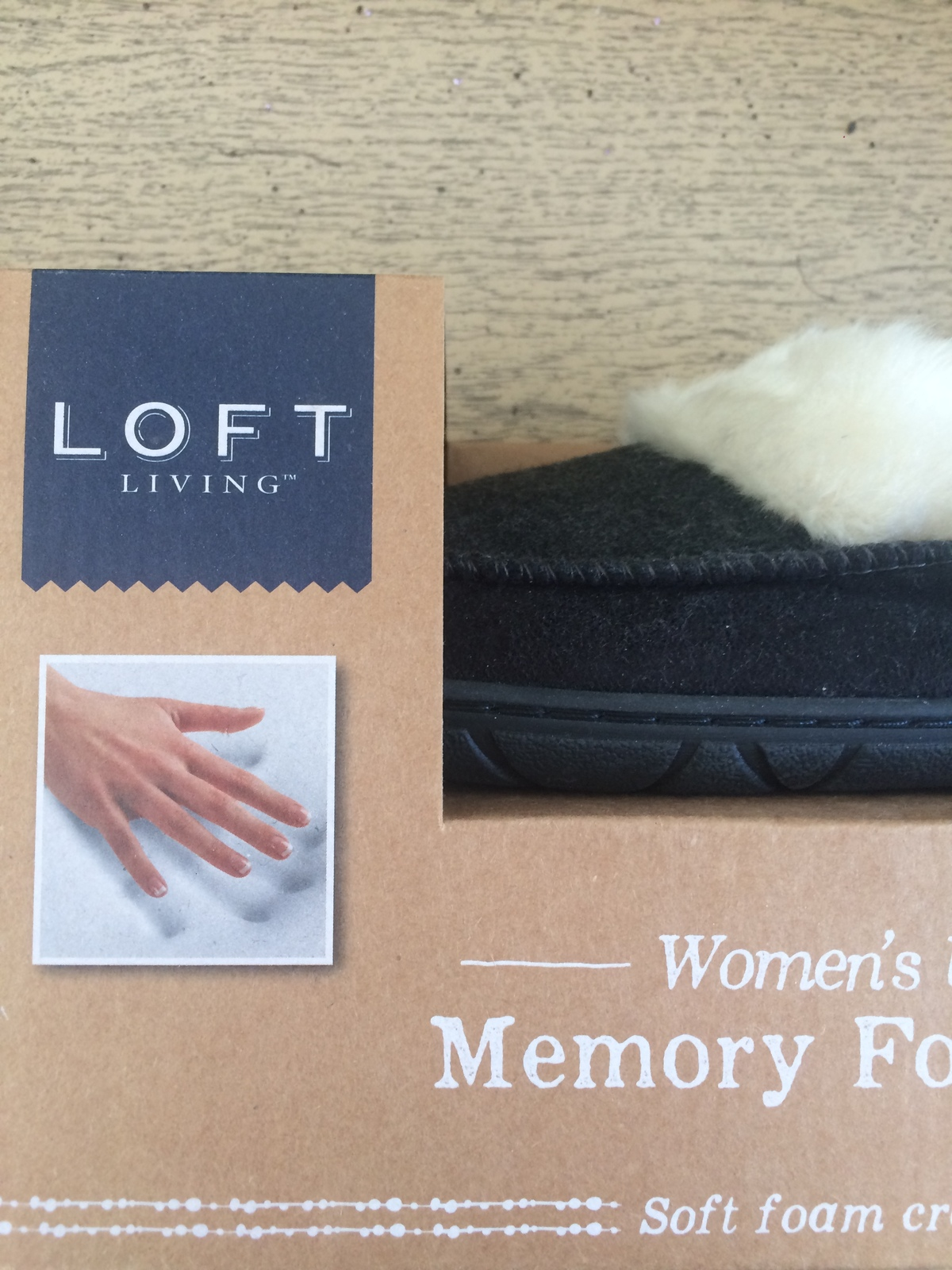 Primary image for Loft Living Women's Ultra-Soft Memory Foam Slippers